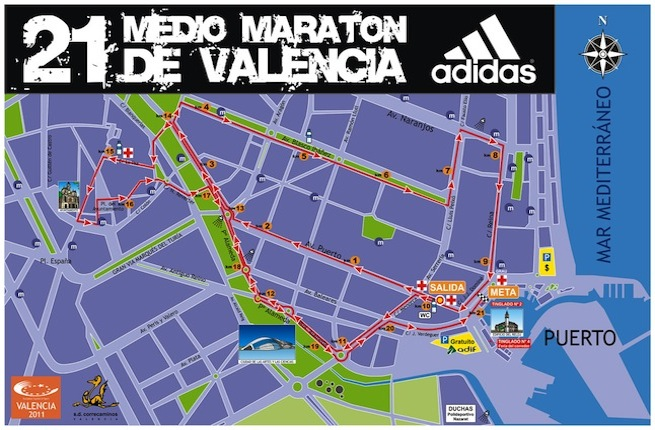 plan semi marathon